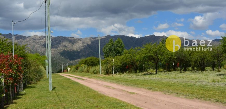 LOTE DE 1250M2 EN SAN MIGUEL CORTADERAS