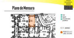 LOTE DE 1500M2 EN CERRO DE ORO – MERLO