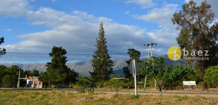 LOTE DE 3500m2 SOBRE RUTA EN LOS MOLLES