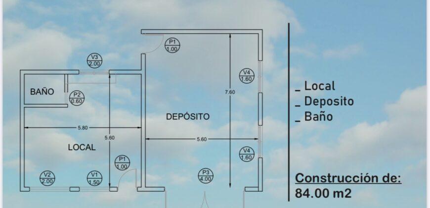 PRE-VENTA LOCAL + DEPOSITO EN CARPINTERIA