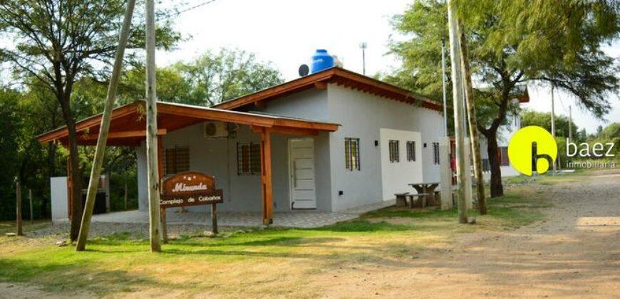 COMPLEJO DE CABAÑAS EN LOS MOLLES